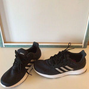 adidas Shoes - adidas Womens Size 8.5 Dark Gray Cloudfoam Sneaker